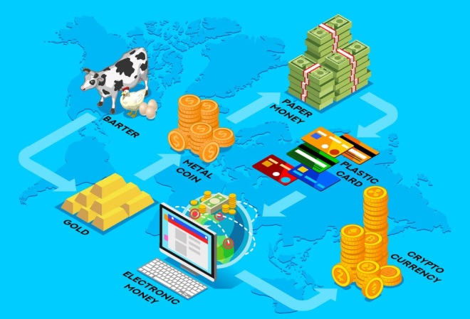 Cryptocurrency evolution of money