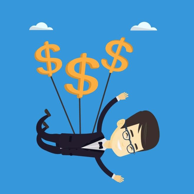 business-man-flying-with-dollar-signs-vector-13751443
