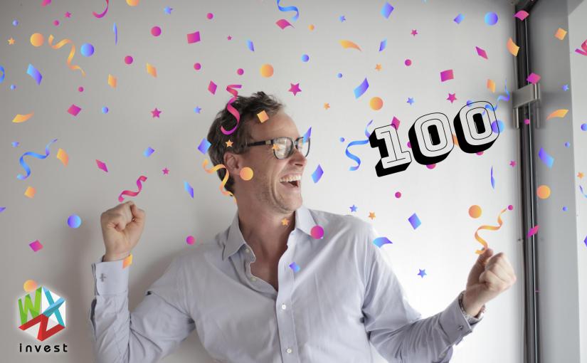 Chegámos aos 100!